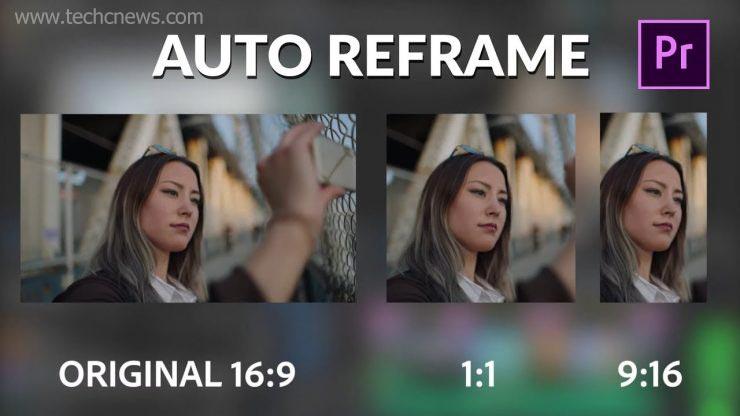 Adobe Auto Reframe