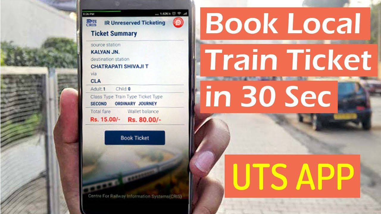 How to Book a Season Train Ticket on the UTS App