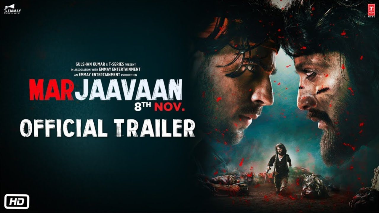 Marjaavaan Official Trailer