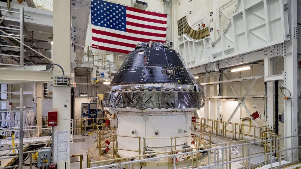 Nasa on Moon Mission