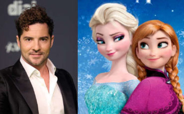 David Bisbal in frozen 2