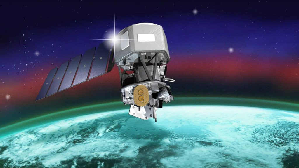 NASA Launches Satellite