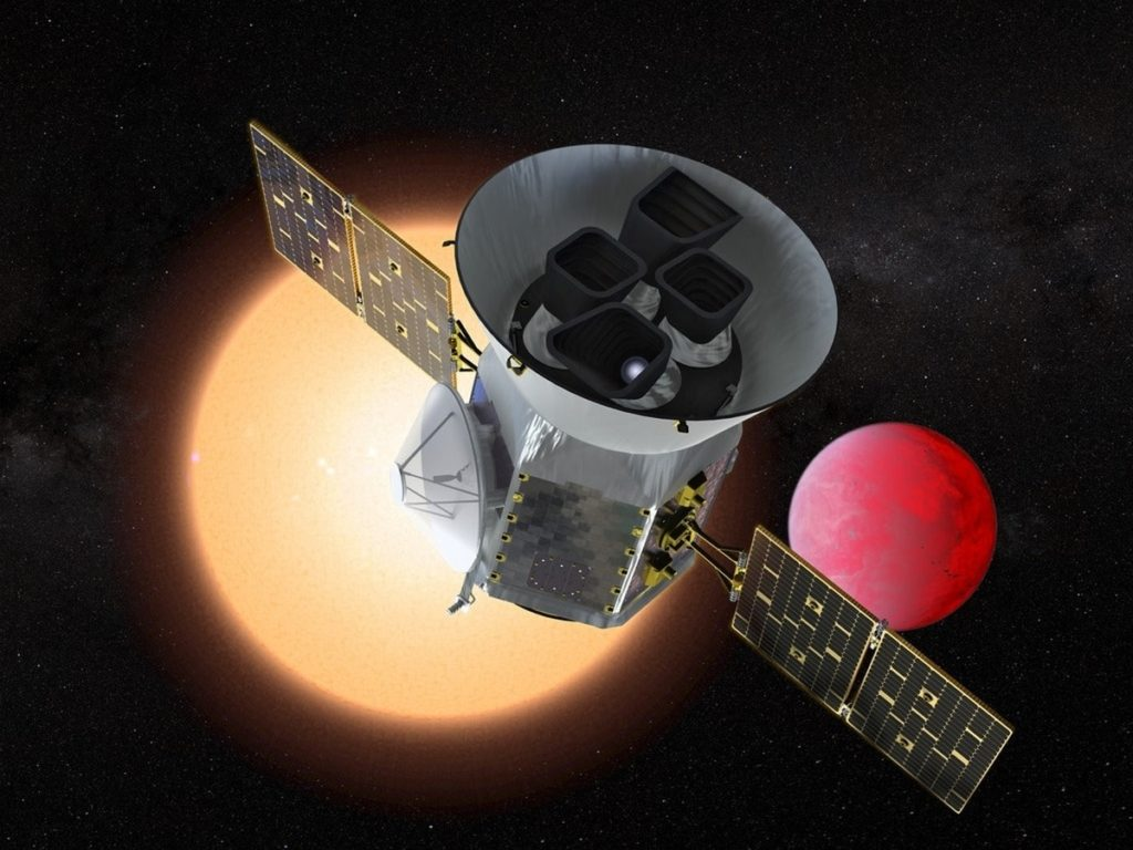 NASA's Planet Hunting Telescope