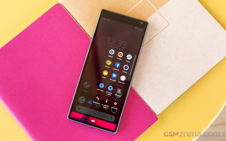 Sony Xperia 10 is less than half