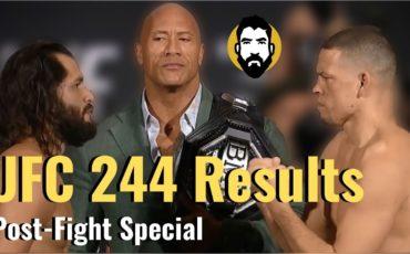 UFC 244 result