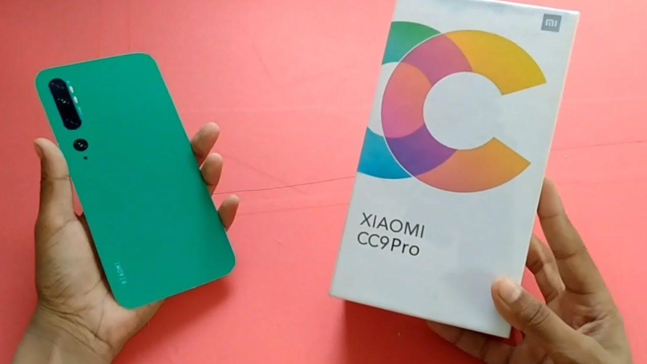 Xiaomi Mi CC9 Pro Unboxing