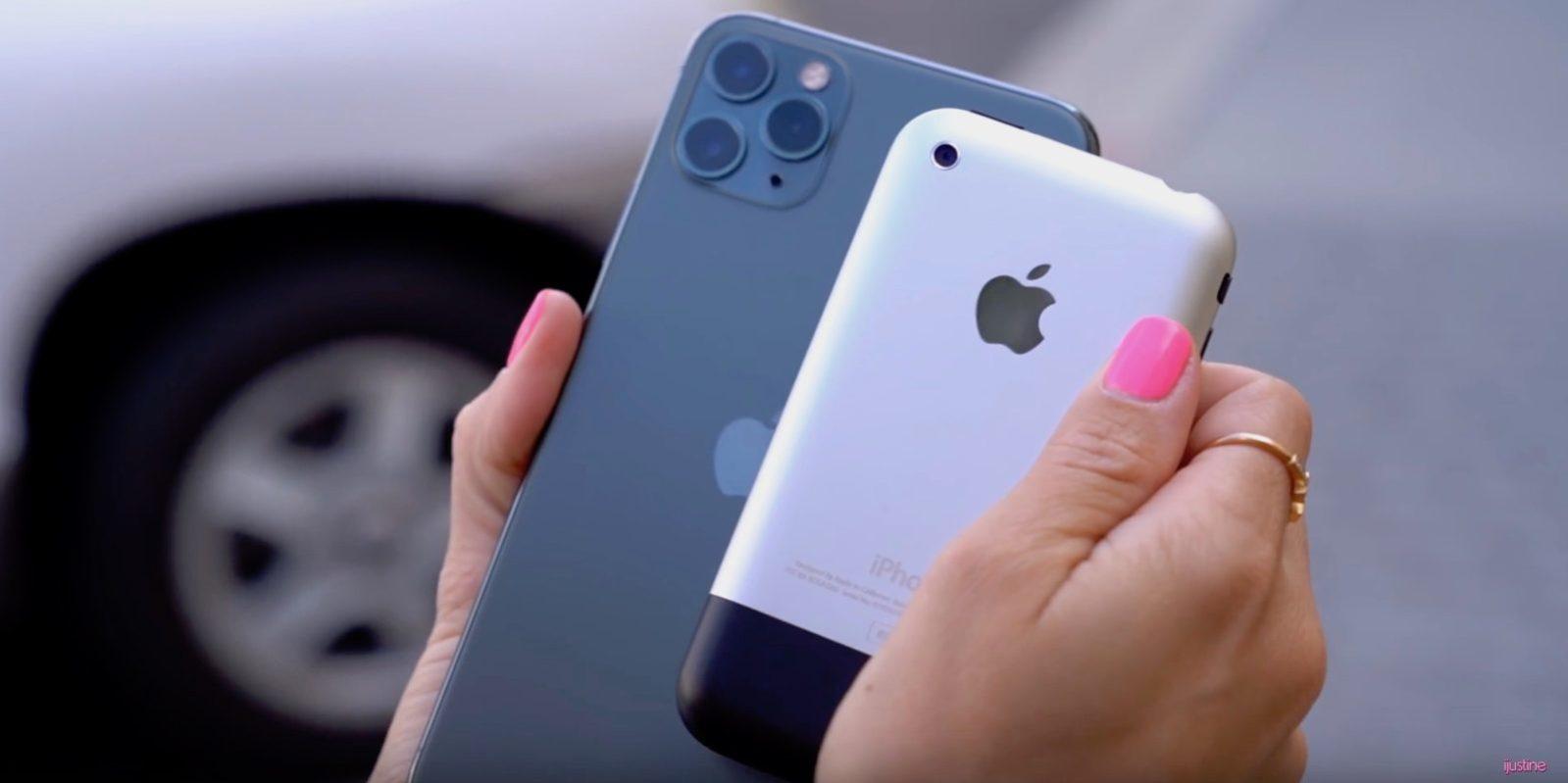 iPhone 11 Pro vs Original iPhone