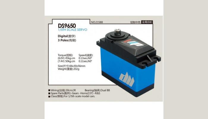 DUALSKY DS9650 HV SERVO REVIEW
